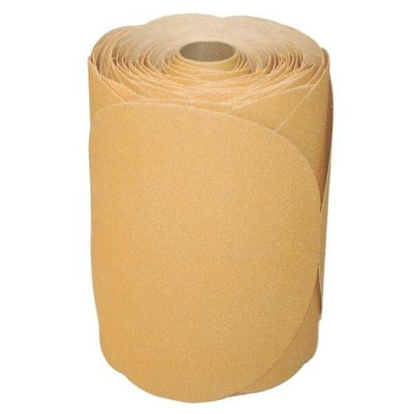 400 Grit DURA-GOLD 6-inch PSA Disc DA Sander Sandpaper Roll