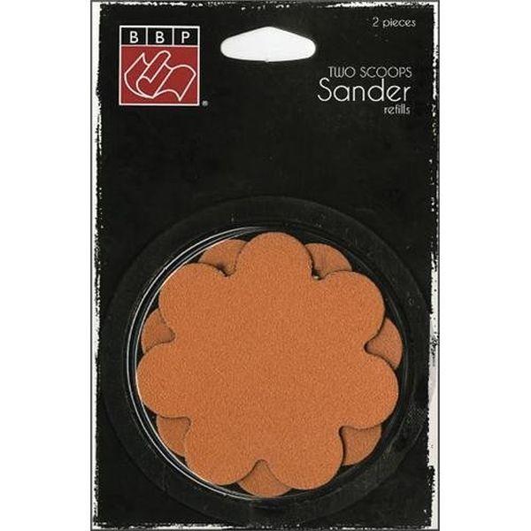 Two Scoops Sander Refill Sandpaper 2/Pkg