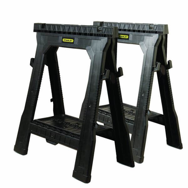 Stanley Folding Sawhorse (2-Pack)