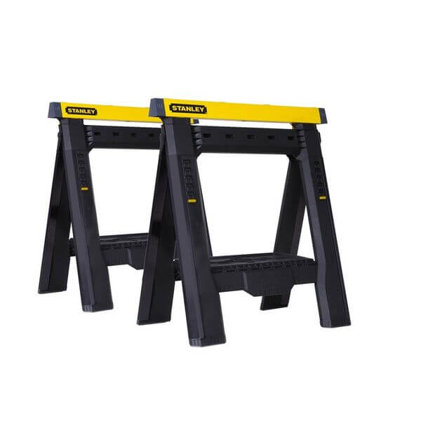 Stanley Adjustable Sawhorse Twin Pack