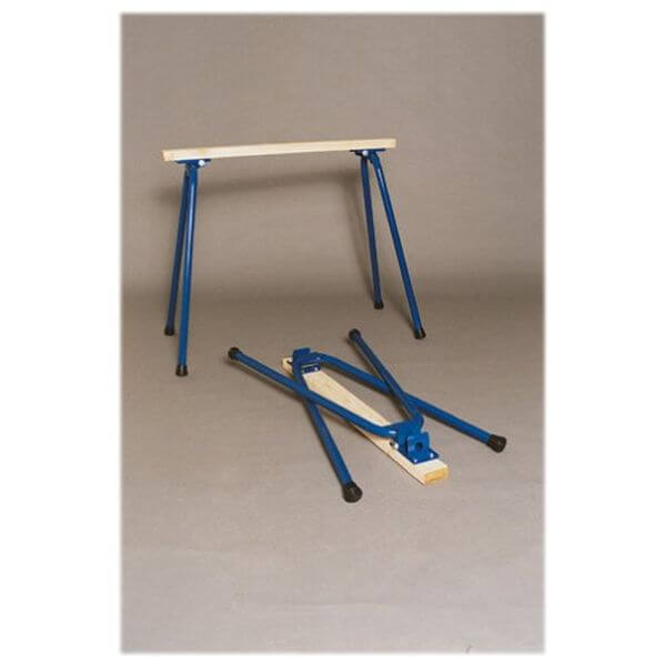 Target Precision Rugged Buddy 34-Inch Folding Sawhorse Legs for One Complete Sawhorse