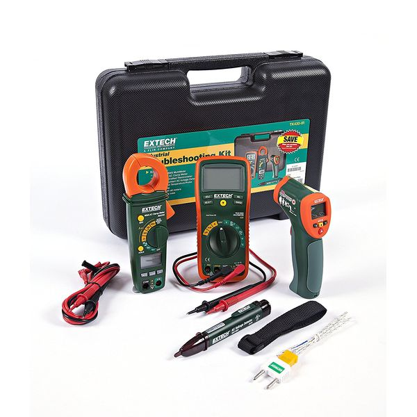 Extech Industrial Equipment and Material Troubleshooting Combo Kit