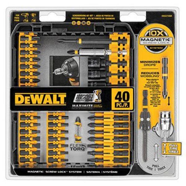DEWALT Impact Ready Screw Driving Set, 40-Piece