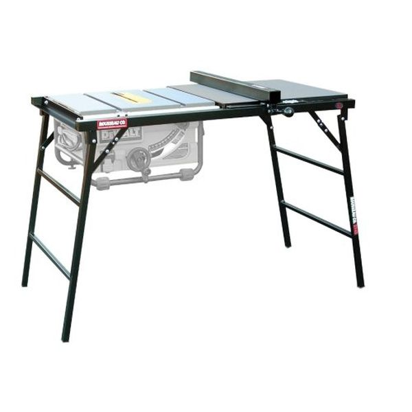 Rousseau PortaMax Table Saw Stand for DeWalt 745 Table Saw