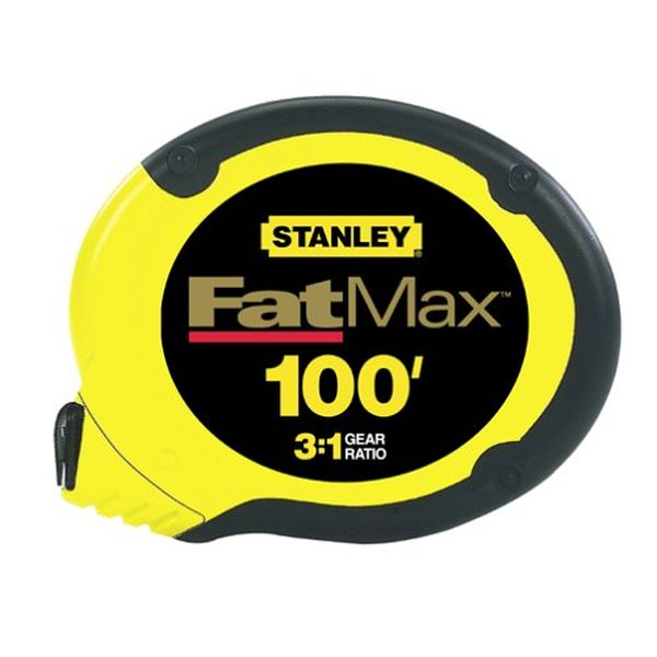 Stanley 100-Foot FatMax Long Tape Rule
