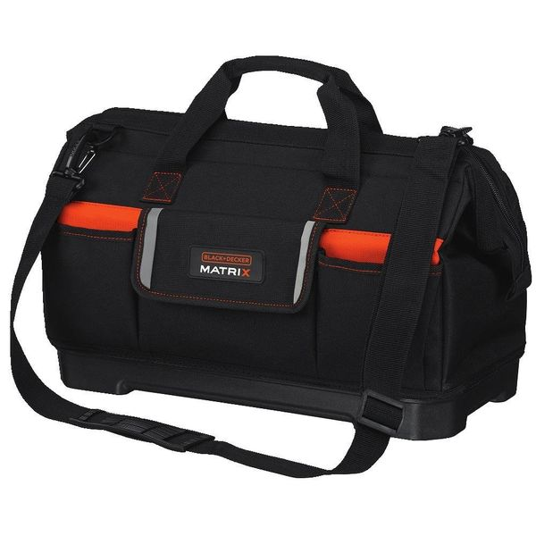 Black & Decker Matrix Wide-Mouth Storage Bag