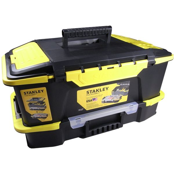 Stanley Click and Connect Deep Tool Box and Organizer