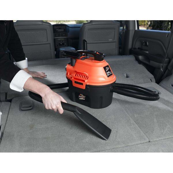 ArmorAll Utility Wet/Dry Vacuum, 2.5 gallon, 2 HP