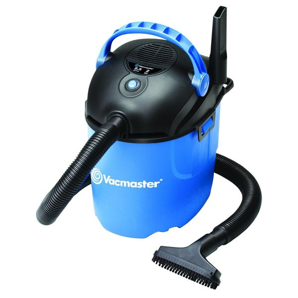 Vacmaster Portable Wet/Dry Vacuum, 2.5 gallon, 1.75 HP