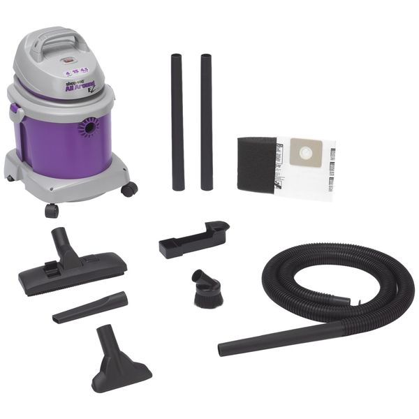Shop-Vac 4.5-Peak Horsepower AllAround EZ Series Wet/Dry Vacuum, 4-Gallon