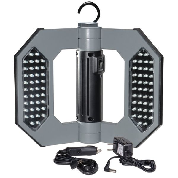 Cooper Lighting Might-D-Light 80-LED Cordless Rechargeable Folding Worklight