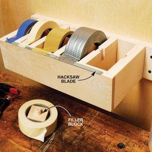 170 Tool Storage Ideas - Mr. DIY Guy #tools #storage #toolstorage