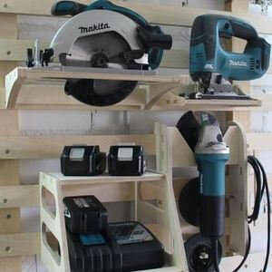 170 Tool Storage Ideas - Mr. DIY Guy #tools #storage #toolstorage